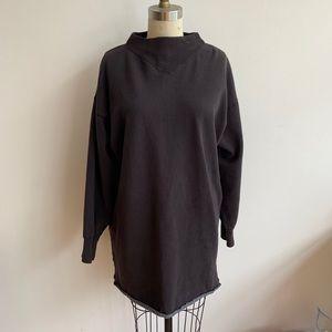 Isabel Marant Etoile French Terry Sweatshirt Dress